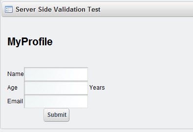 Server Side Validation in Liferay - profile-jsp-render
