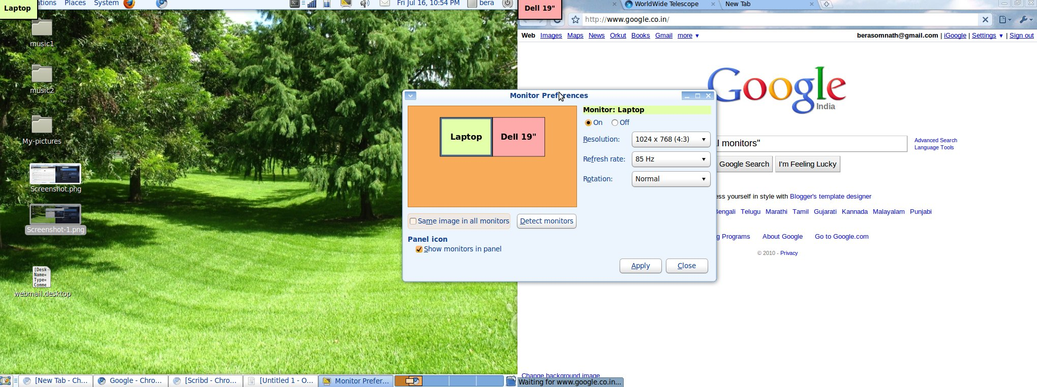 Setting Up an External Laptop Display on Ubuntu - Open Source For You