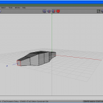 First edge loop scaled down