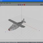 Front face selected and inset for propeller