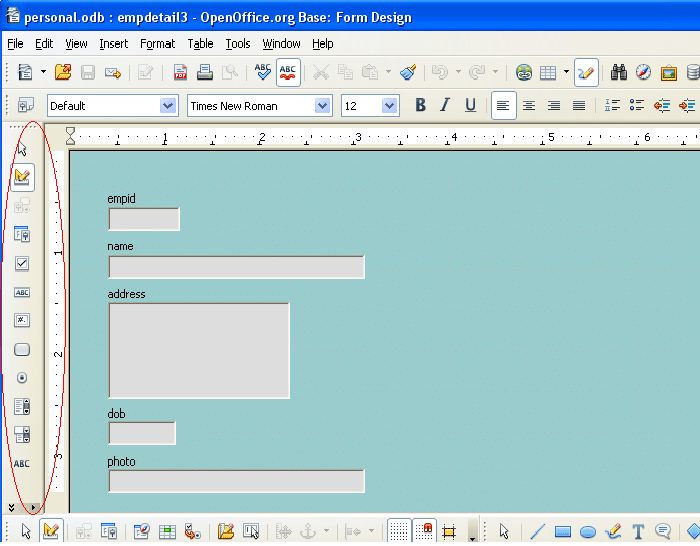 working with openoffice org ooo base open source for you