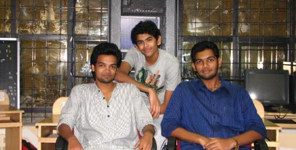 The trio who cooked up their own edu video repository