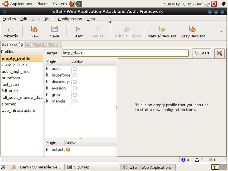 Web Application Penetration Testing Using Samurai - Open