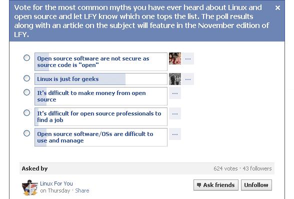 Facebook Survey Results