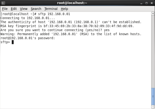 Secure FTP Access