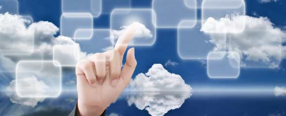 Touch-in-hand-cloud-technology