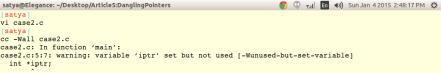 Fig3_Compiler generating warning