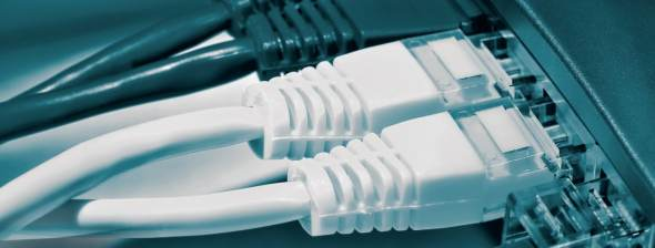 Network cable with router