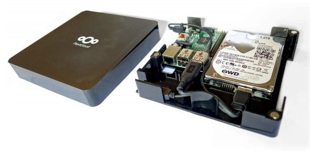 Nextcloud Box with Canonical Ubuntu on Raspberry Pi