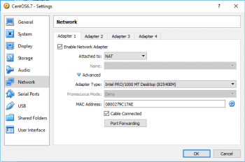 Figure 8 Network Settings