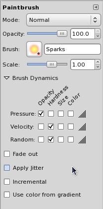 Figure 3: Bursh dynamics