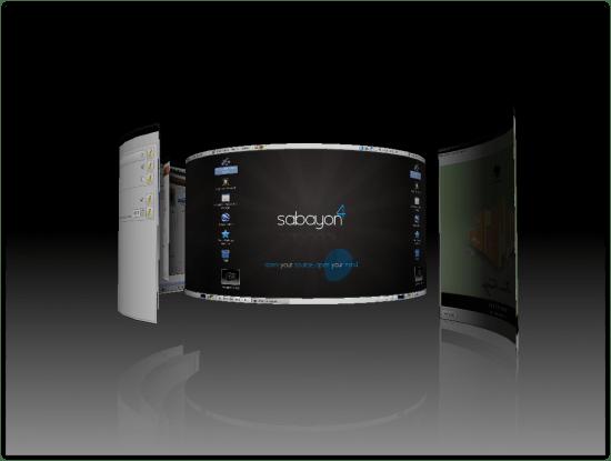 Figure 3: 3D desktop out of the box