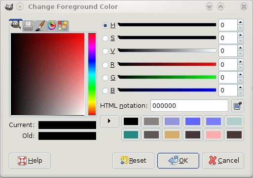 Figure 9: Colour selector