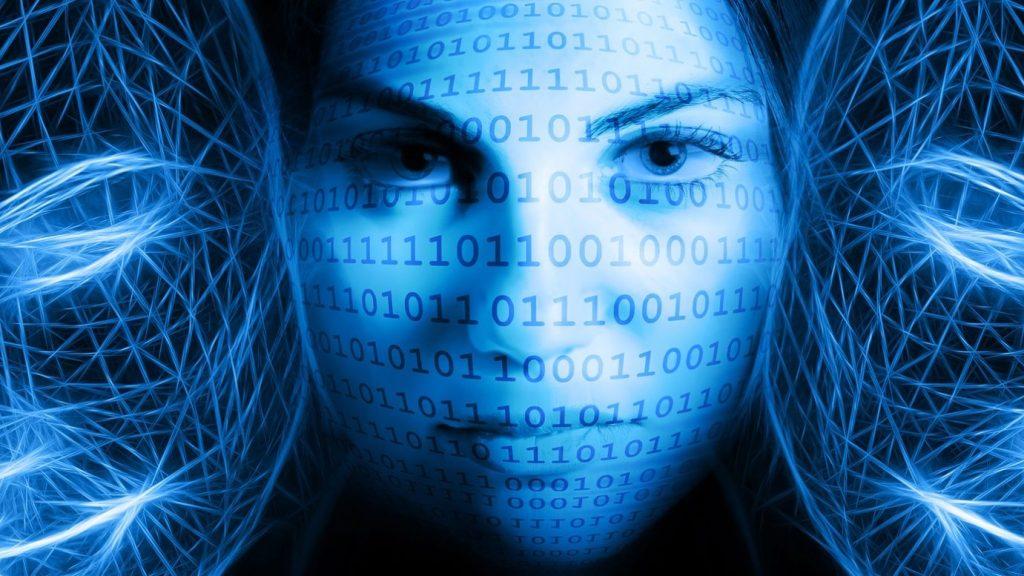Digitalisierung und Gesichter