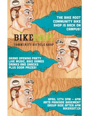 bikeroot opening poster