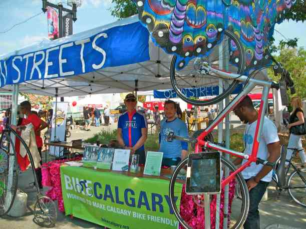 Thank you 'Bike Calgary' for you generous contributions during the festival
