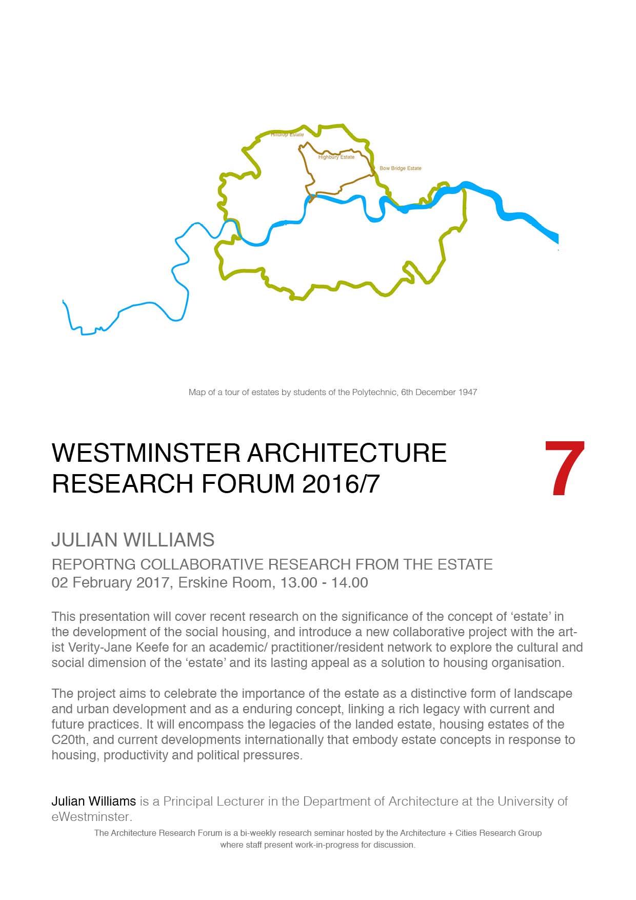 RESEARCH | Open Studio Westminster