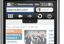 tabbed browsing opera mini 5 beta