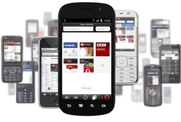 Opera Mini and Mobile