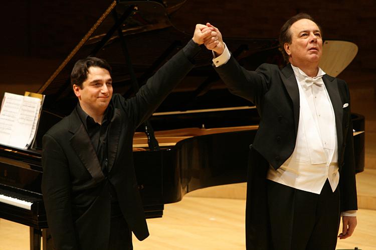 Igor Tcheuev e Ferruccio Furlanetto