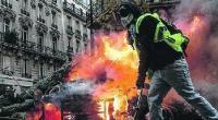 in Italia tutti i partiti dicono che la protesta deve essere pacifica. La stessa Lega di Salvini si vanta che grazie al governo M5S- Lega di aver impedito le proteste violente e di poter continuare a difendere i padroni. La violenza delle proteste porta i vari santoni della democrazia dei padroni a considerare i motivi della protesta sbagliati Invece non è vero niente La rivolta violenta che da più di quattro settimane mette a fuoco le strade della Francia ottiene un primo risultato Macron il capo dello stato dei padroni francesi è costretto ad ammettere che la rabbia dei […]