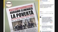 Avevano gridato dal balcone di aver abolito la povertà. 900 mila famiglie ricevono in media 489 euro al mese, sono solo il 15% di chi vive in povertà. Non saranno i 500 euro a coppia a riscattarli dalla miseria nera. Facebook Comments
