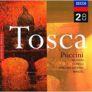 Puccinis Tosca med Nilsson och Corelli i soffan!