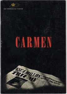 Carmen på Det Kongelige Teater Gamle Scene - synopsis