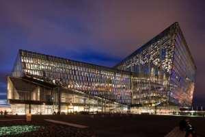 Harpa Concert Hall Foto: Nic Lehoux