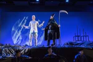 Döden säger nej på Operaverkstan en fantastisk succé