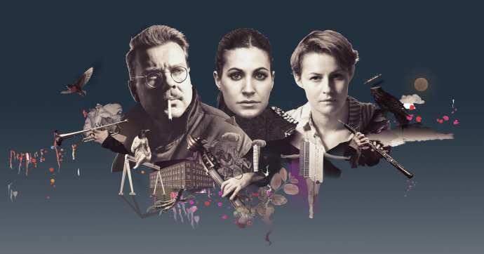 Mikael Wiehe, Nour El Refai, Edda Magnason,Malmö Symfoniorkester Montage:Kristian Ingers