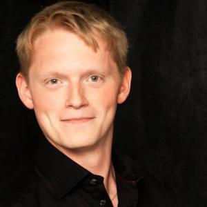 Joakim Larsson basbaryton Operaakademiet