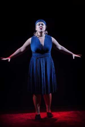 Christina Nilsson som Aida på bio