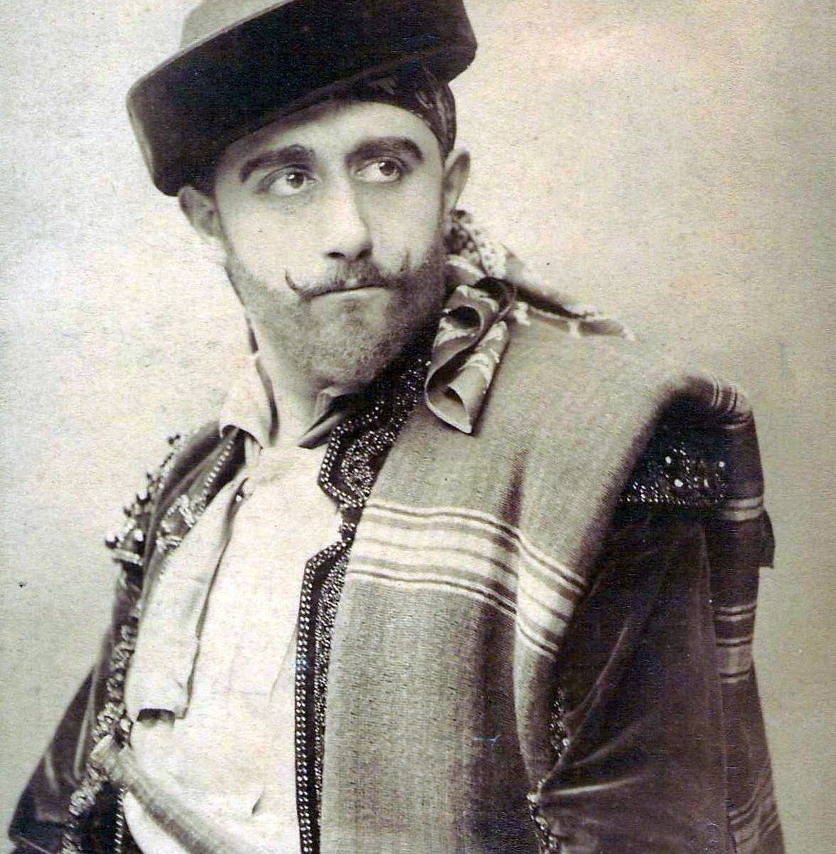 Jacques Bouhy as Escamillo, the role he created in 1875