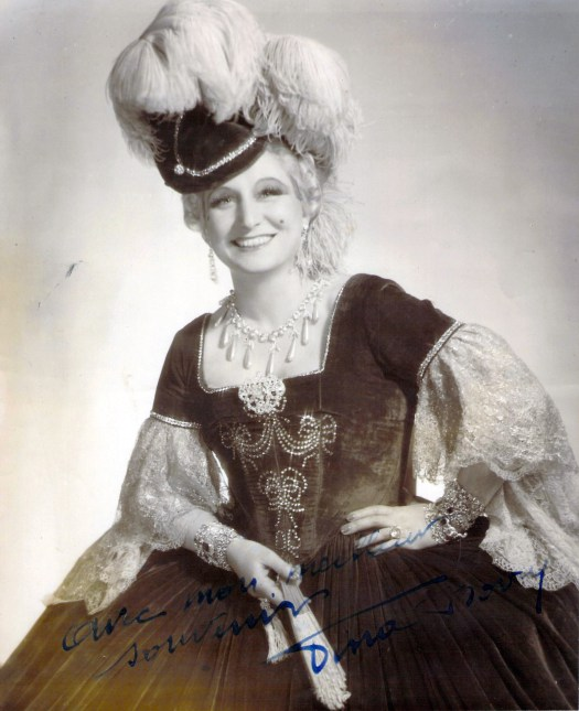 Bovy, Vina in the title role in Manon