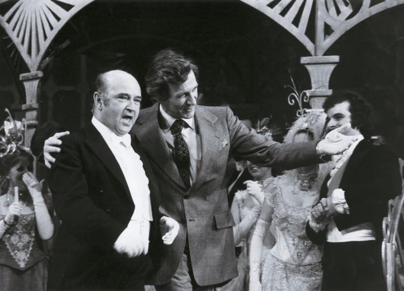 Charles Craig and Peter Ebert at opening of Theatre Royal