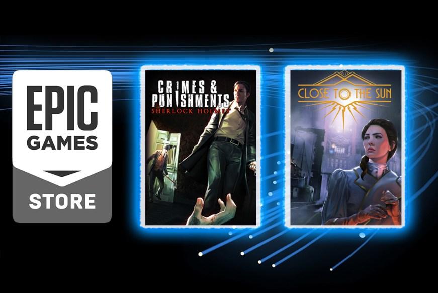 Epic Games Store Oyunları   Sherlock Holmes ve Close to ...