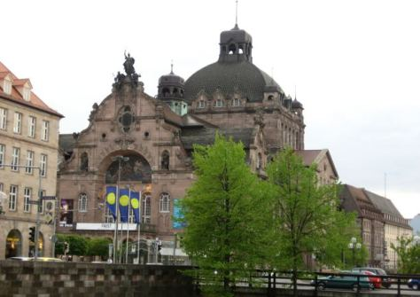 Staatstheater Nürnberg, Foto: Seltrecht /pixelio.de