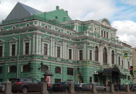 Mariinski Theater , Außenansicht, Foto: Operaticket