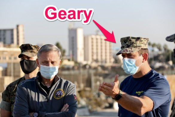 commander bradley geary