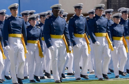 us air force academy recruits