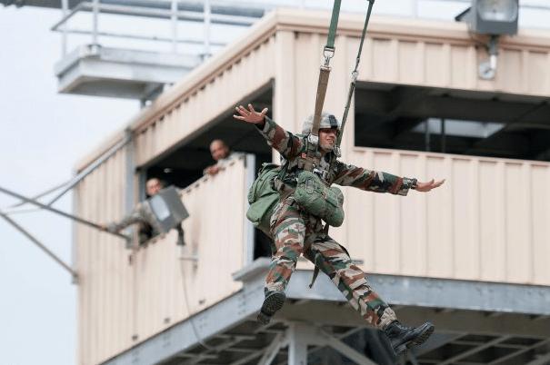 airborne school zipline