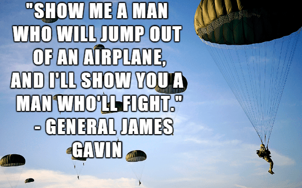 army airborne quote