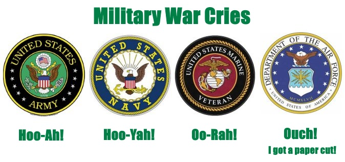 difference between hoorah, oorah, hooyah, and hooah