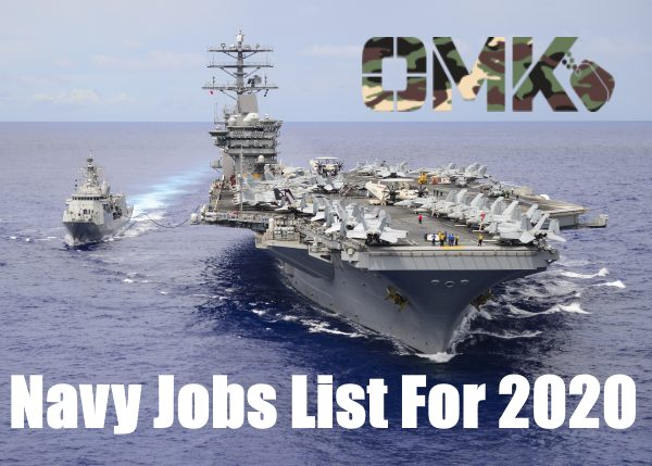 navy jobs list
