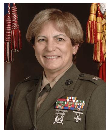 angela salinas - famous female marines