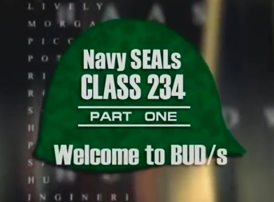 buds class 234 - navy seal documentaries