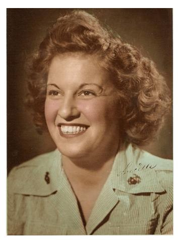 lucille mcclarren - famous female marines