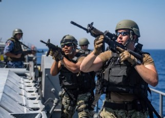 vbss team boarding a ship - combat jobs in the navy
