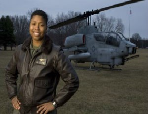 vernice armour - famous female marines